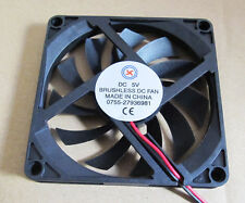 1pc 80x80x10mm 80mm 8010 24V DC Brushless Cooling Fan 2pin Connector