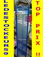 Range 36 CD hauteur 115 cm couleur bleu  -70% idée cadeau TOP PRIX ! ! ! !