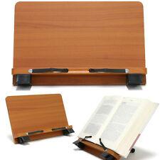 Book Stand Portable Wooden Reading Desk Cookbook Holder [P1]