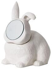 Rabbit Mirror Jewelry Box Container Vanity Punk Imm Taxidermy Organizer Necklace