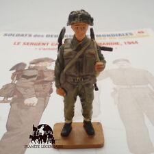 Figurine Del Prado plomb DELPRADO Sergent Canadien en Normandie 1944