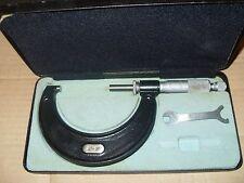 """Moore & Wright 2 - 3"""" micrómetros No.966 - como la foto."""