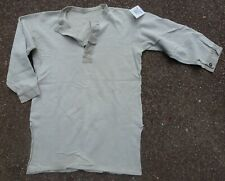 Swedish Army Collarless Shirt #10/1