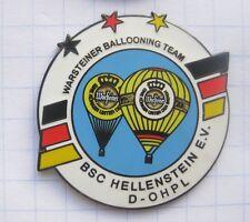 BSC HELLENSTEIN / WARSTEINER BALLOONING TEAM  ... Bier-Ballon-Pin (103j)
