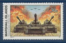 Marshall Islands 1991 World War 2 WW II Scott 282 German Invasion Russia W22 NH