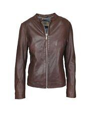BOGNER Jeans LESLIE Damen Lederjacke / Bikerjacke Jacke, Size: S / Lammleder