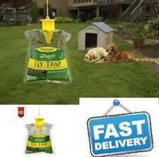 Disposable Fly Trap Bag Outdoor Cage Camping Bugs House Blow Blue Green Flies