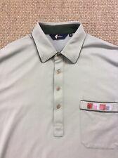 Men's GABICCI XL Pale Green Polo Shirt Superb