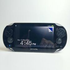 Sony PS Vita PlayStation Black Console PCH-1001 OLED MINT Free Shipping