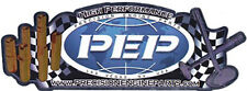 PEP Precision Engine Parts Official Racing Decal D639