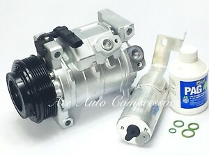 2008-2010 Chrysler Town & Country 3.3L / 3.8L With Rear Air A/C Compressor Kit.