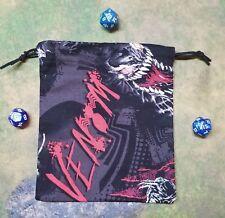 Marvel Venom Dice Bag, Card Bag, Makeup Bag