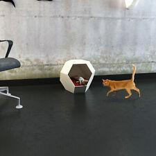 Casa para Gato Papercraft Cat House