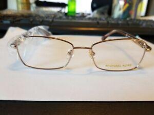 MICHAEL KORS MK362 780 in Gold 52-16-135 Frames Flex Hinges Authentic New