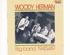 CD WOODY HERMANbig band 1945/49SWITSERLAND EX (B0839)