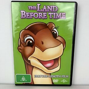 Land Before Time PAL DVD Region 4 Free Postage