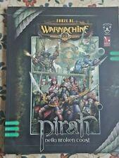 manuale fantasy - FORZE DI WARMACHINE - PIRATI DELLA BROKEN COAST - ITALIANO