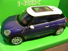 1/24 Welly Mini Cooper S Paceman blau 200590