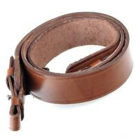 Rifle Shotgun Strap Gun Sling Genuine Leather Hunting Brown Hunting Shoulder New