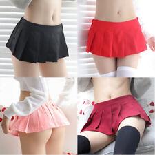 Ladies Skirt Women's Cosplay Japanese Schoolgirl Skirt Skater Nightclub
