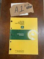 JOHN DEERE 240,260,265, 285 Lawn & Garden Tractors Operator's Manual M79648 NOS
