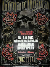 Guns n` Roses 2012 Tour Mönchengladbach Konzert plakat Concert Callejon Poster