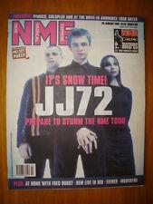 NME 2001 JAN 20 JJ72 MANICS COLDPLAY REM FEEDER DURST
