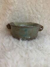 Studio Art Pottery Bowl Dish Handmade Ceramic Signed