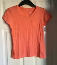 Ladies Bright Orange River Island T-shirt Size 12