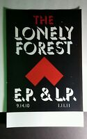 THE LONELY FOREST EP & LP RED ARROW B&W 11x17 MUSIC PROMO POSTER