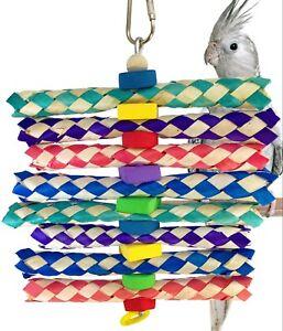 1243 FOAMY DELIGHT BONKA BIRD TOYS parrot cage toys cages cockatiel conure