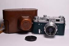 FED 3 (type A) Green body Soviet 35mm Rangefinder Camera, Industar-26m (2.8/50)
