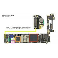 CHARGING DOCK FPC connector replacement for apple IPHONE6+PLUS