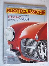 RUOTECLASSICHE Ruote Classiche N°153 Settembre 2001 Maserati A6G54