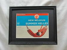 NEW BELGIUM SUMMER HELLES BEER SIGN  #942