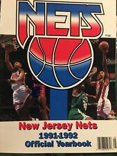 1991/92 NJ Nets Basketball Yearbook Petrovic Coleman