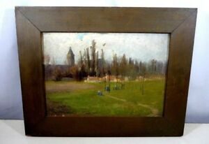 H. Winthrop  Peirce  1911   period  Framed oil on canvas