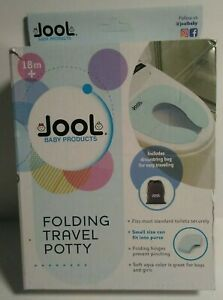 Folding Travel Potty Seat for Boys and Girls, Fits Round & Oval Toilets, Non-...