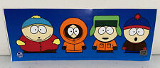 South Park Bumper Sticker Decal 1997 Licensed 1st Issue Kyle Kenny Stan Cartman