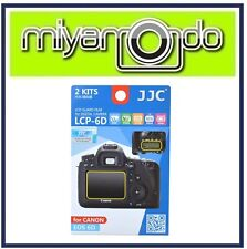 JJC LCP-6D Screen Protector for Canon 6D (2pc Pack)