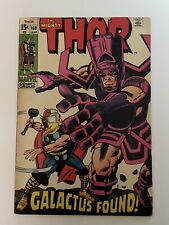 Marvel THOR #168 (1969) Galactus Partial Origin, Balder, Watcher, Volstagg