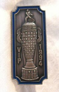 1994 Indianapolis 500 Limited Edition VIP Silver Pit Badge Al Unser, Jr. Winner