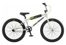 "2020 GT DYNO PRO SERIES HERITAGE 24"" white/black BMX BIKE"