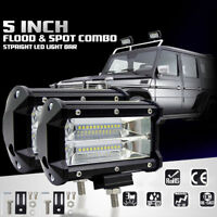 High Power 72W LED Work Light Flood Spot Driving Lamp Jeep Truck Boat Offroad
