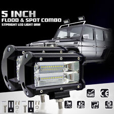 "5"" 72W LED Work Light Bar Spot Lamp Driving Fog For Offroad SUV Car Boat Truck"