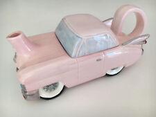 VINTAGE Ceramic 1950's Pink Cadillac Tea Pot, very unusual and rare