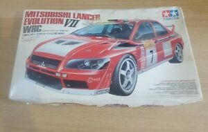 Tamiya 1/24 Mitsubishi Lancer Evolution VII WRC 2002 # 24257*