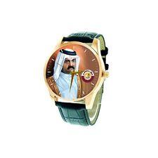 H.E. Sheikh Hamad bin Khalifa Al Thani Emir of Qatar Collectible Wrist Watch