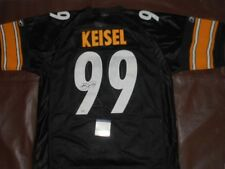 Brett Keisel Autographed NFL Signed Pittsburgh Steelers Sewn football Jersey