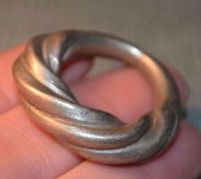 Antique African Tuareg Ethnic Metal Tribal Ring From Niger, Africa, Ring Size 9